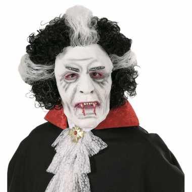 Wit dracula masker carnavalskleding valkenswaard