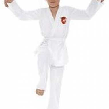 Wit karate kid carnavalskleding jongens valkenswaard