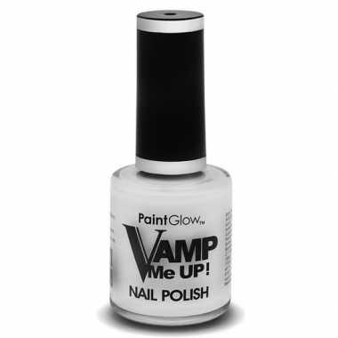 Witte matte nagellak vamp me up ml carnavalskleding valkenswaard