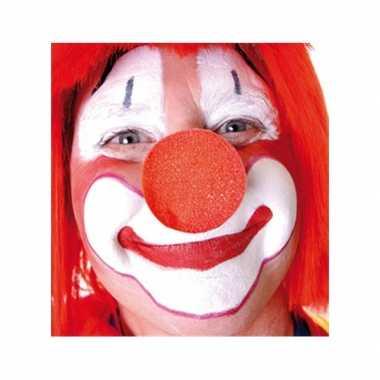X opzet clownsneuzen rood carnavalskleding valkenswaard