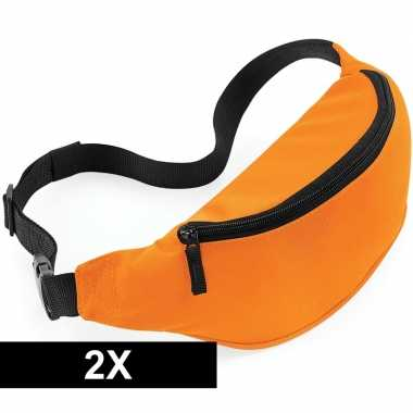 X reistasjes verstelbaar oranje carnavalskleding valkenswaard