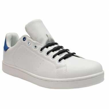 X shoeps xl elastische veters navy blauw brede voeten volw carnavalsk