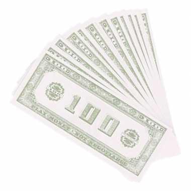 X speelgeld nep dollar biljetten dollar carnavalskleding valkenswaard