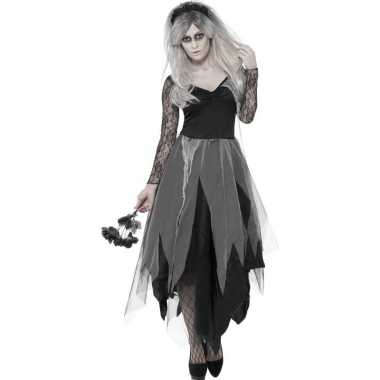 Zombie bruidsjurk dames carnavalskleding valkenswaard