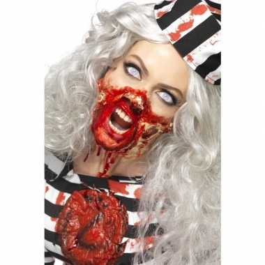 Zombie latex make up set carnavalskleding valkenswaard