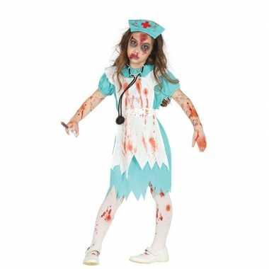 Zombie verpleegster/zuster verkleedcarnavalskleding meisjes valkenswa