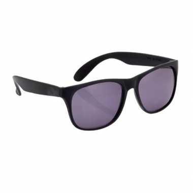 Zonnebrillen zwart carnavalskleding valkenswaard