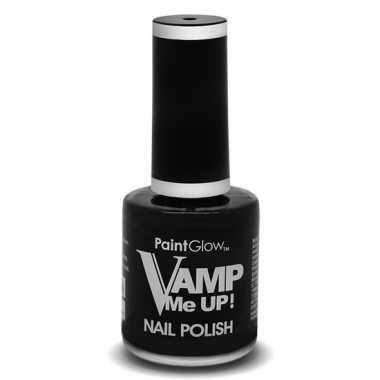 Zwarte matte nagellak vamp me up ml carnavalskleding valkenswaard