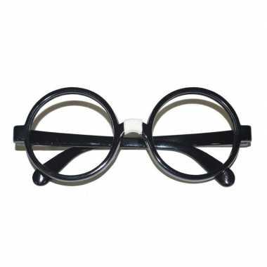 Zwarte nerd bril volwassenen carnavalskleding valkenswaard