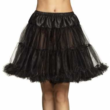 Zwarte petticoat dames carnavalskleding valkenswaard