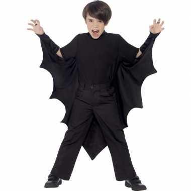 Zwarte vampier vleugels kids carnavalskleding valkenswaard