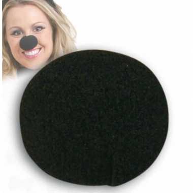 Zwarte verkleed neus carnavalskleding Valkenswaard