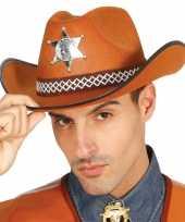 Amerikaanse sheriff hoeden 10071694