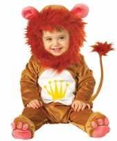 Baby carnavalskleding een leeuw