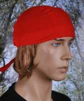Bandana rood uni