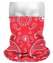 Boeren zakdoek thema print sjaaltjes