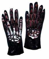 Bot handschoenen bloed