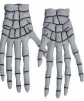 Botten handschoenen skelet