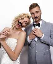 Bruiloft foto prop snorren x
