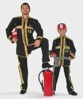 Carnaval brandweer carnavalskleding kind