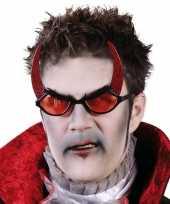 Carnaval carnavalskleding rode duivel bril
