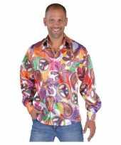 Carnavalskleding hippie shirts fun