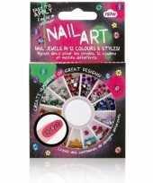 Carnavalskledingket nagel versieringen