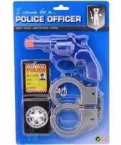 Complete politie speelgoed set jongens meisjes