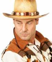 Cowboy hoed kralen volwassenen