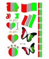 D tattoos italie vlag