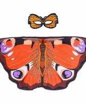 Dans dagpauwoog vlindervleugels kinderen