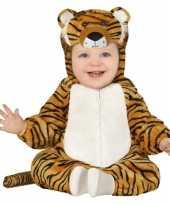Dierencarnavalskleding tijger verkleed carnavalskleding peuters maanden