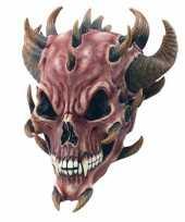 Duivel masker hoorns