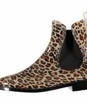 Festival laarzen dames luipaard