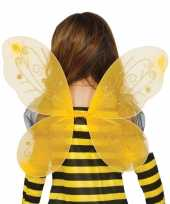 Gele vlinder vleugels kinderen