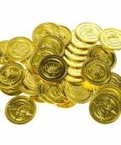 Gouden piraten speelgoed munten stuks