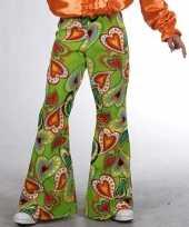 Groene hippie broek kinderen