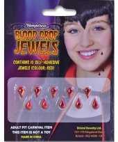 Halloween accessoires tien plak bloeddruppels