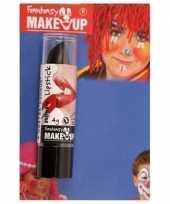 Halloween horror mat zwarte lippenstift lipstick