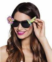 Hawaii verkleedaccessoires zonnebril