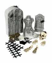 Horror kerkhof versiering set