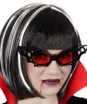Horror vleermuis verkleed bril volwassenen
