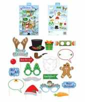 Kerst photo booth props accessoires