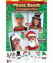 Kerst photo booth set stuks