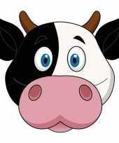 Koeien maskertjes kinderen