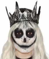 Koning koninginnen verkleed kroon zilver