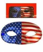 Masker gala amerikaanse kleuren