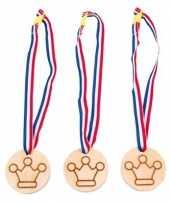 Medaille prijzen kroontjes