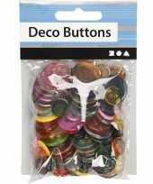 Naai accessoires gekleurde knopen stuks
