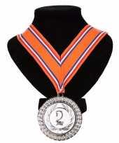 Nederland medaille nr lint oranje rood wit blauw 10091798